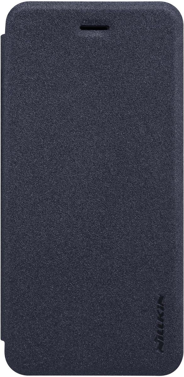 Nillkin Sparkle Leather Case чехол для Apple iPhone 7, Black цена