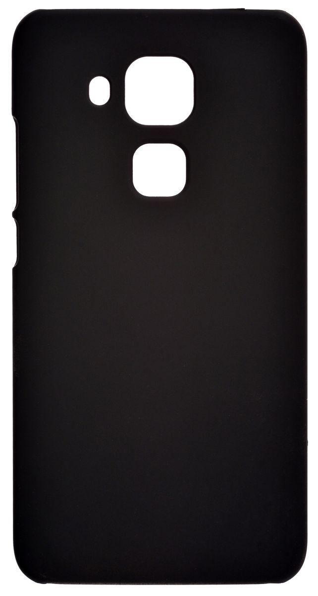 Skinbox 4People чехол-накладка для Huawei Nova Plus, Black цена и фото