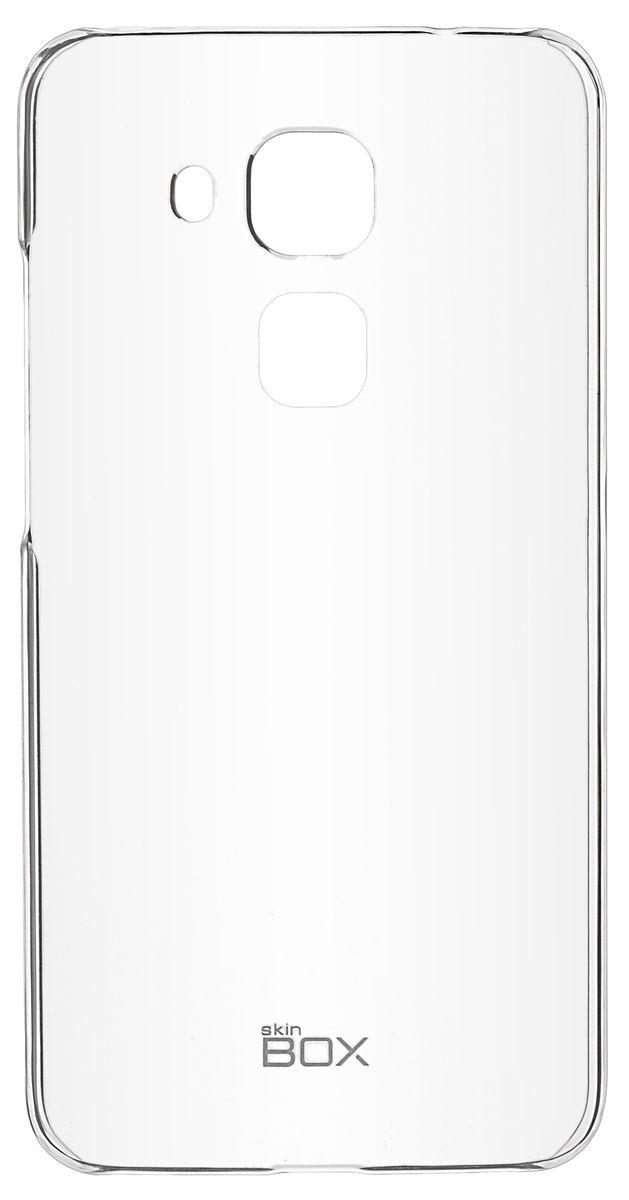 Skinbox 4People Crystal чехол-накладка для Huawei Nova Plus, Transparent цена и фото