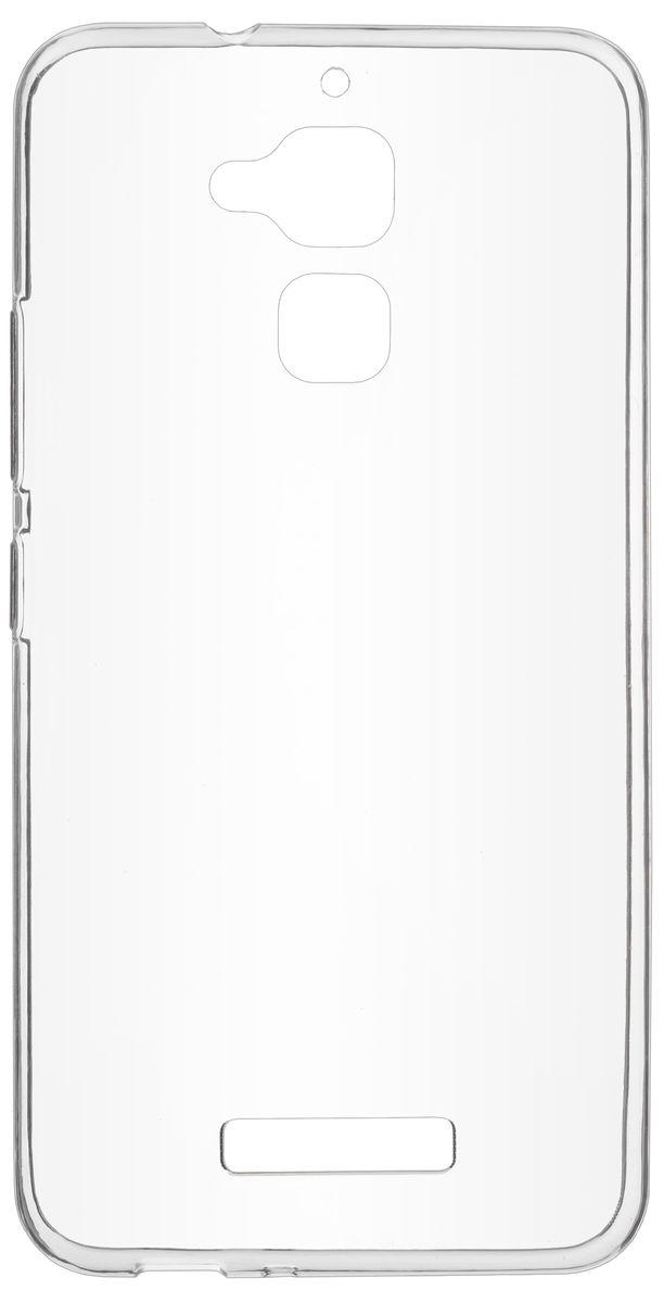 цена на Skinbox Slim Silicone чехол-накладка для Asus Zenfone 3 Max (ZC520TL), Transparent