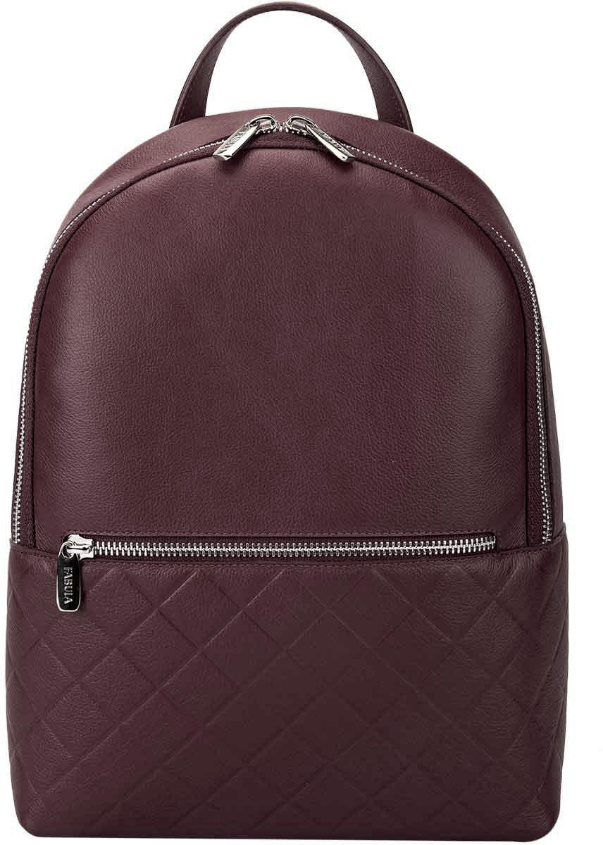 Сумка-рюкзак женская Fabula Soft, цвет: бордовый. S.273.FP клатчи fabula s 124 fp zelenyj
