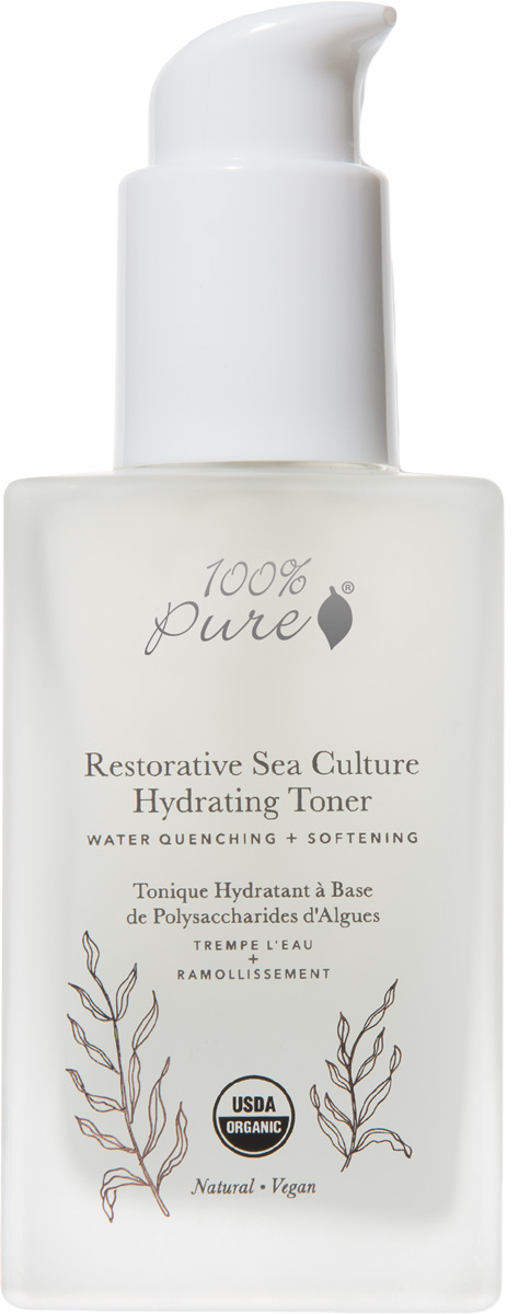 100% Pure Коллекция Морские культуры: Органический увлажняющий тонер, 118 мл