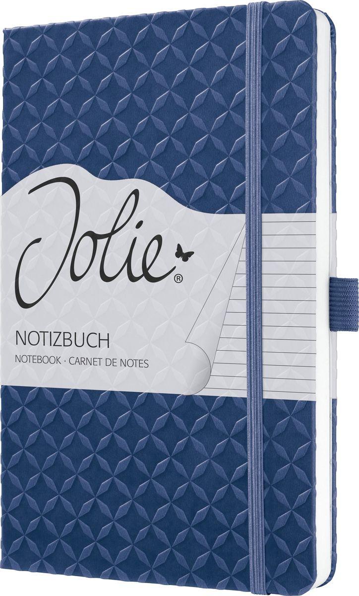 Sigel Блокнот Jolie Flair 87 листов в линейку цвет индиго