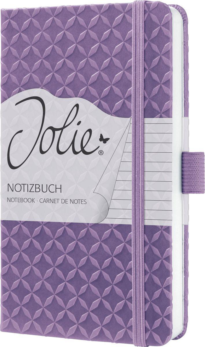 Sigel Блокнот Jolie Flair цвет сиреневый 87 листов в линейку JN110