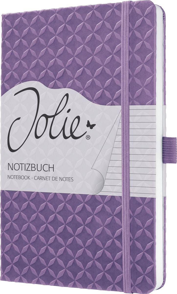 Sigel Блокнот Jolie Flair цвет сиреневый 87 листов в линейку JN111