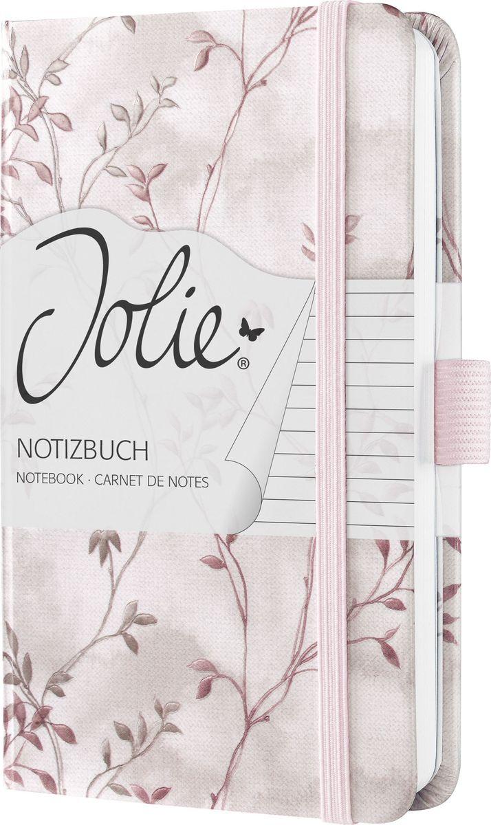 Sigel Блокнот Jolie Beauty Красная романтика цвет светло-розовый 87 листов в линейку