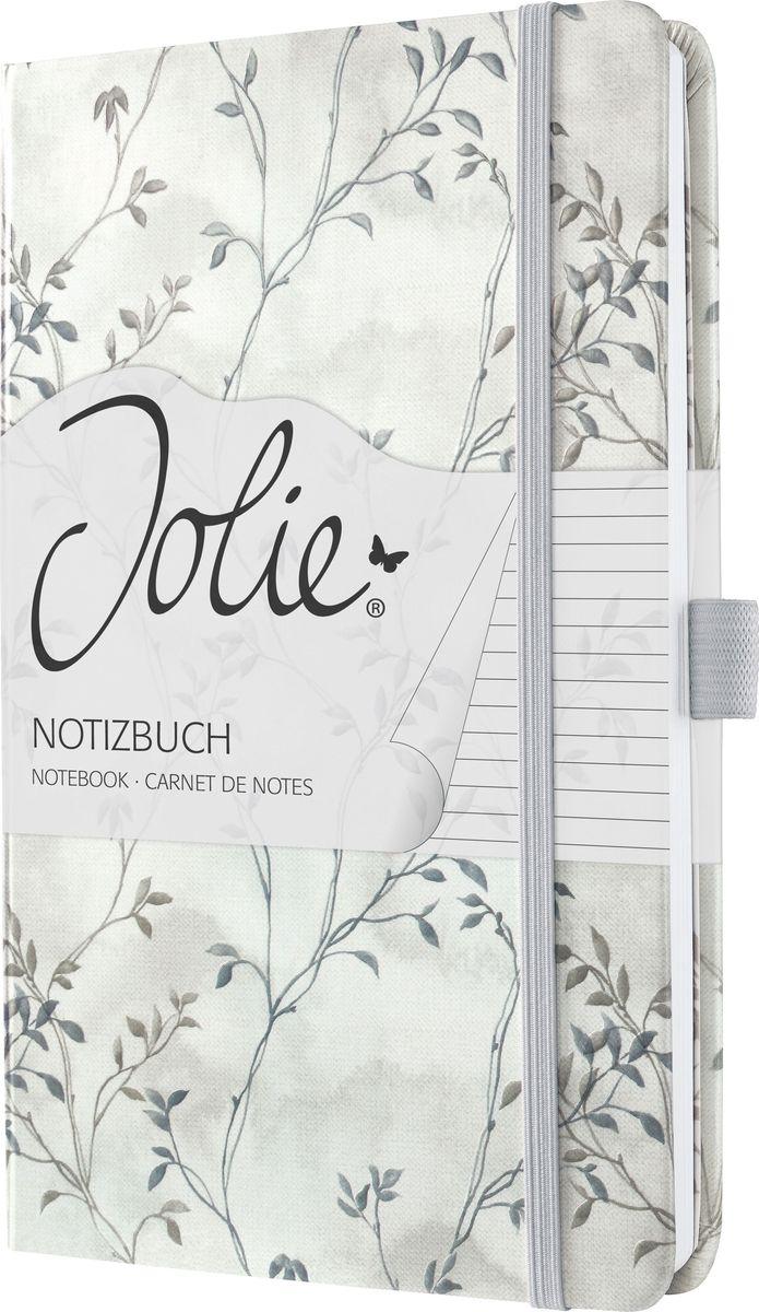 Sigel Блокнот Jolie Beauty Синяя романтика 87 листов в линейку