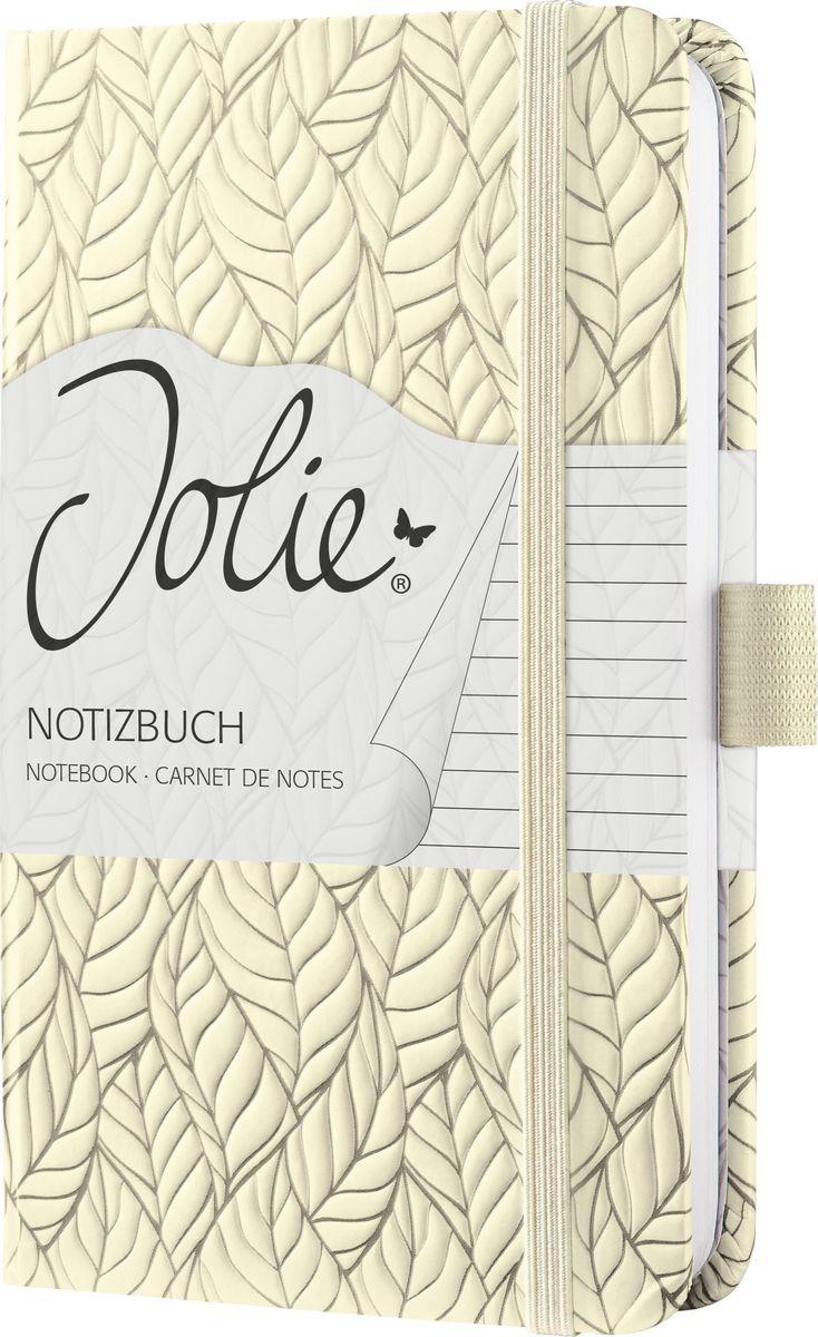Sigel Блокнот Jolie Beauty Ванильный сад 87 листов в линейку
