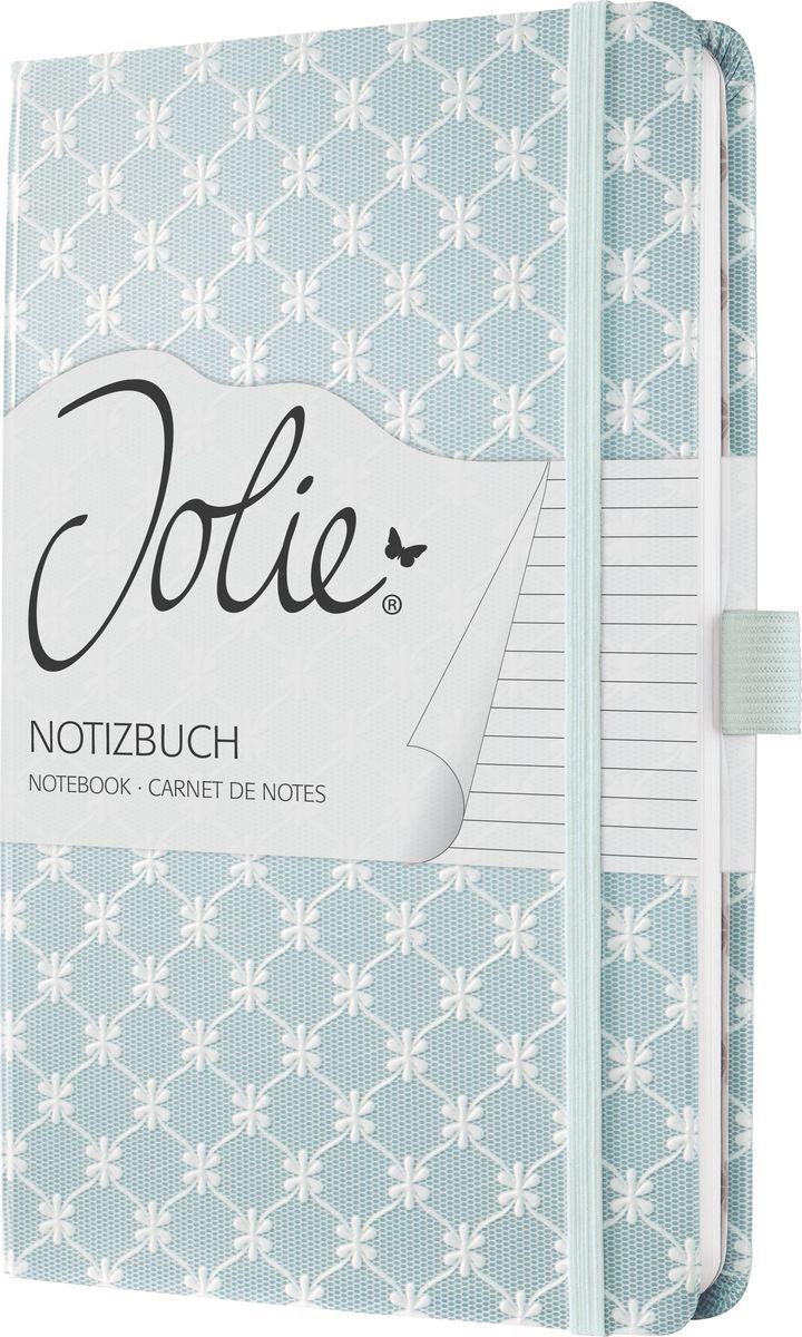 Sigel Блокнот Jolie Beauty Голубая пастель 87 листов в линейку