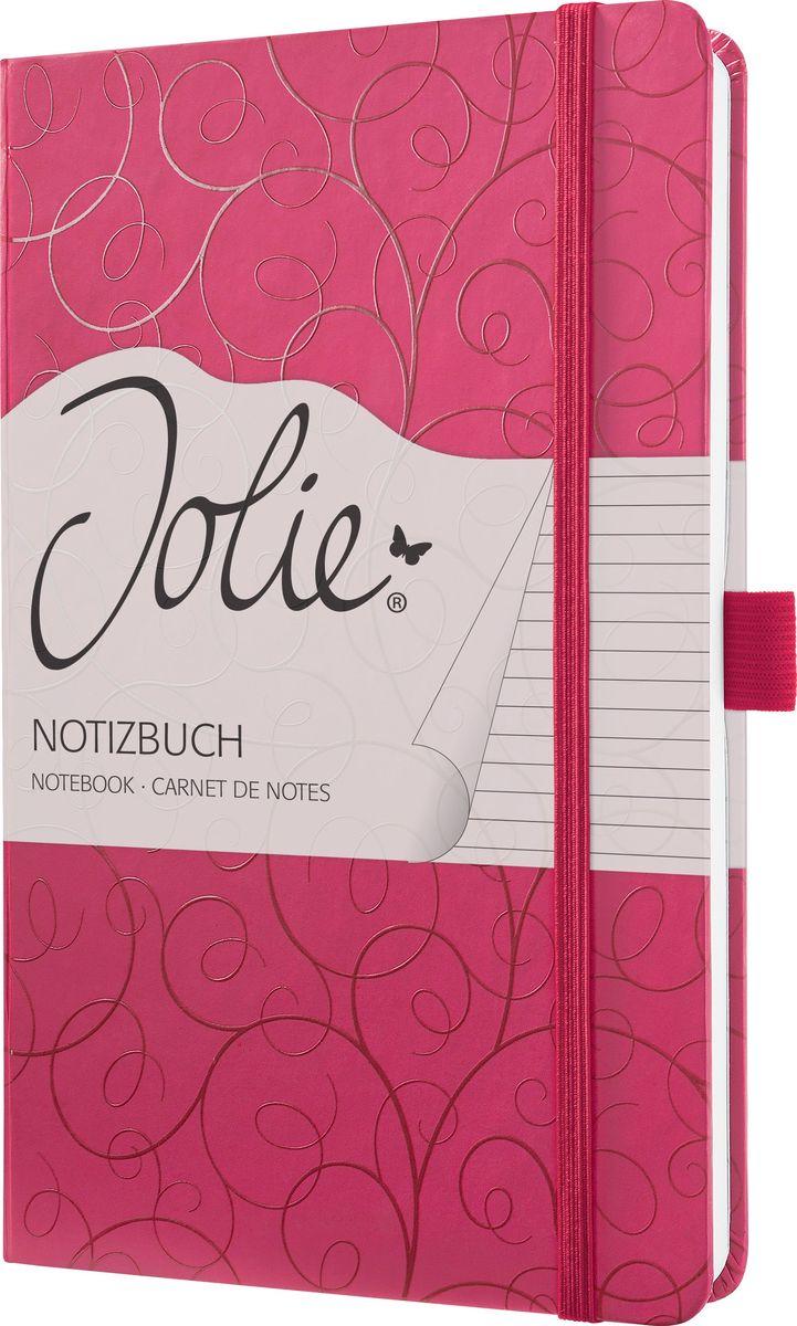 Sigel Блокнот Jolie Beauty Пурпурная утонченность 87 листов в линейку