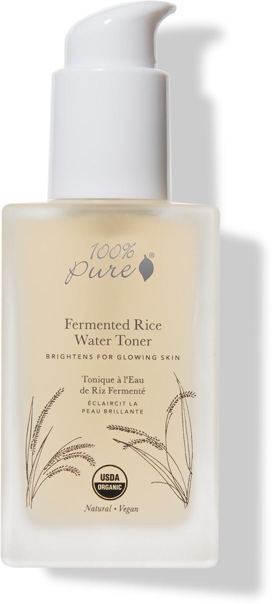 100% Pure Коллекция Рисовая вода: Органический тонер, 118 мл