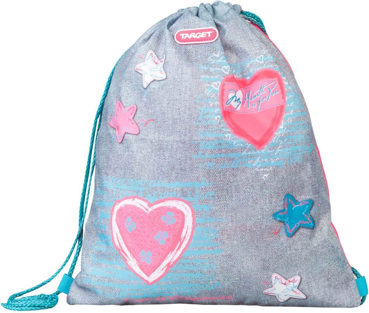 Target Collection Сумка для сменной обуви Jersey Love диван угловой артмебель эмир п микровельвет бежевый
