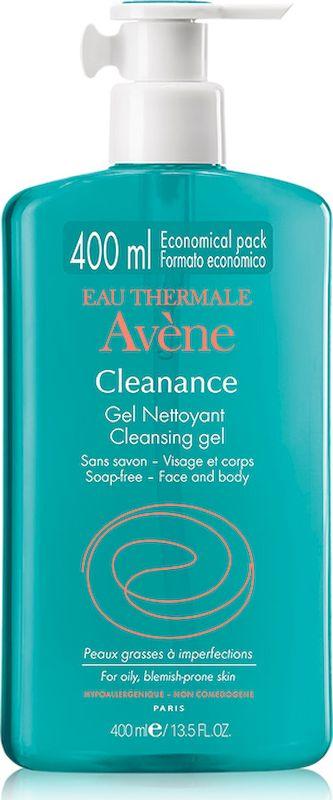 Avene Cleanance Очищающий гель, 400 мл крем для лица avene cleanance expert soin