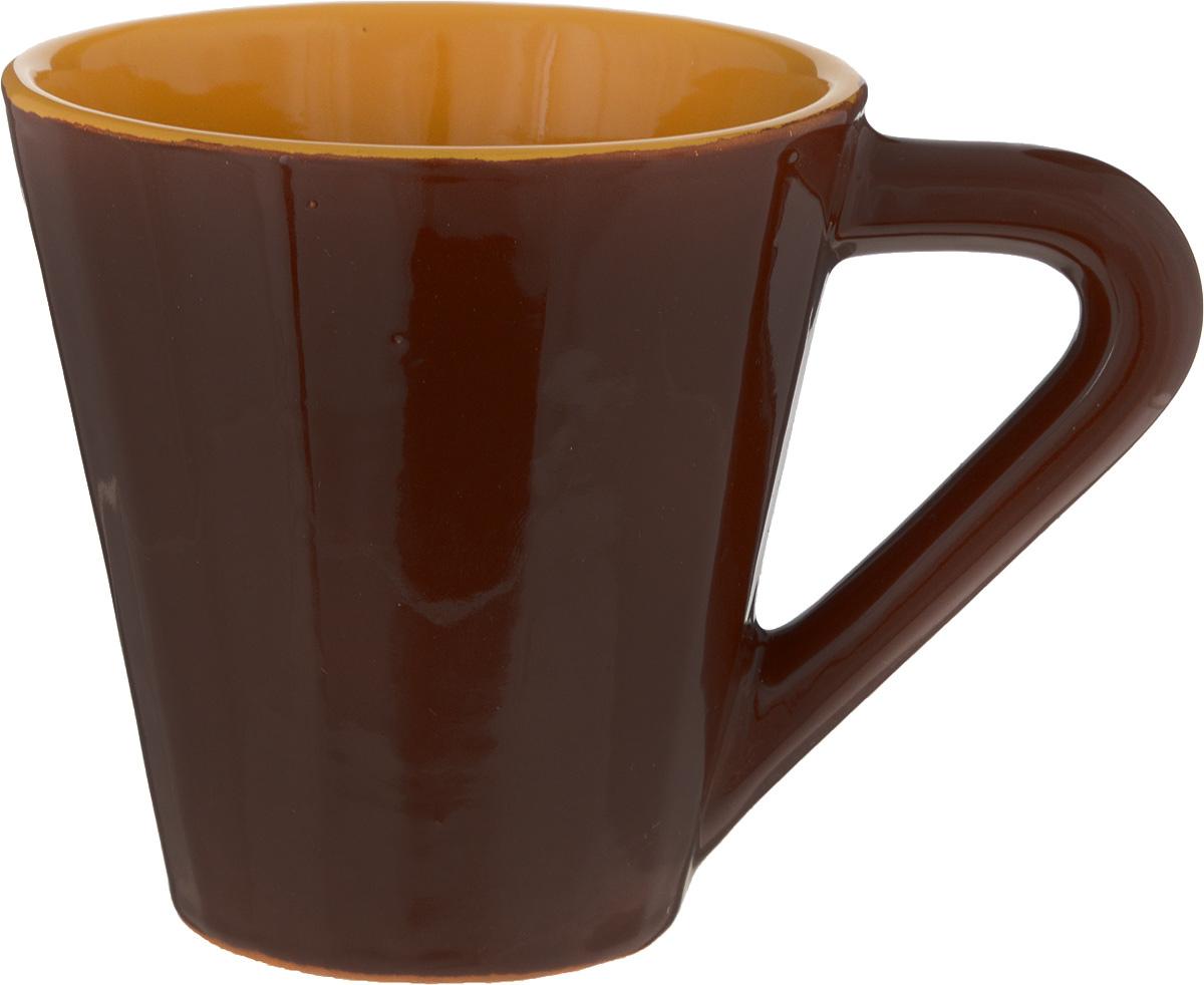 Чашка чайная Борисовская керамика Ностальгия, 300 мл чашка чайная борисовская керамика ностальгия цвет желтый серый 200 мл