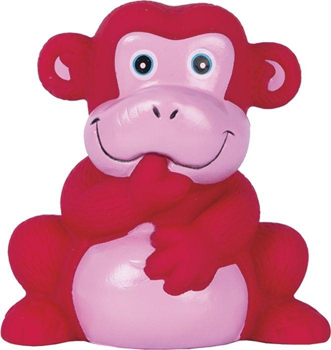 Игрушка с пищалкой Обезьянка (Серия Мой первый друг) 1 шт. (ПВХ-пластизоль) 12+ игрушка для ванной пома игрушка с пищалкой бычок 1 шт 12 3519