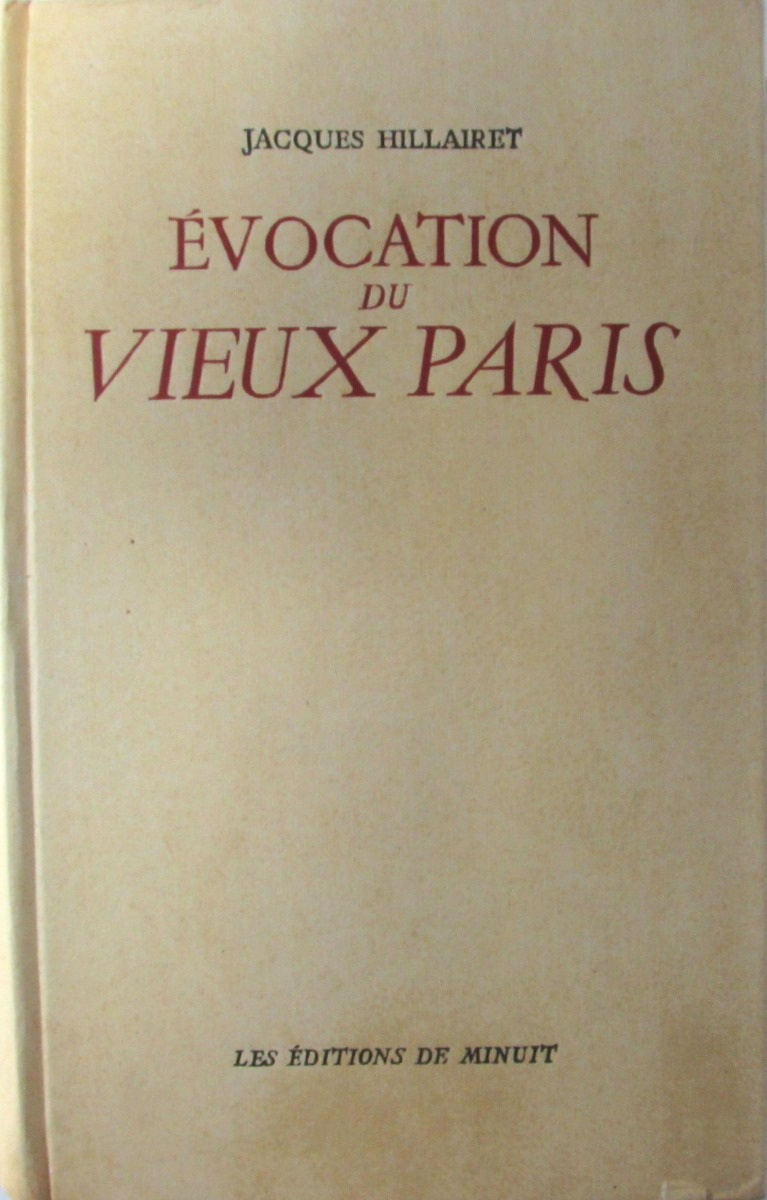 Jacques Hillairet Evocation Du Vieux Paris все цены