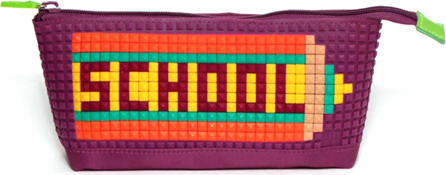 4ALL Пенал Kids цвет фиолетовый цена и фото