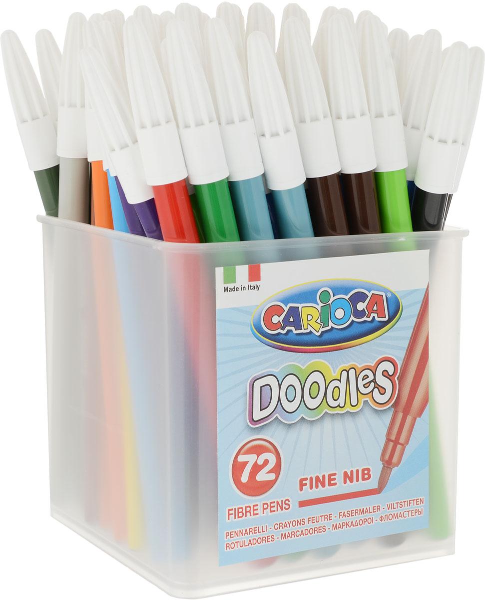 Набор Carioca 72 фломастера (24 цвета) Doodles