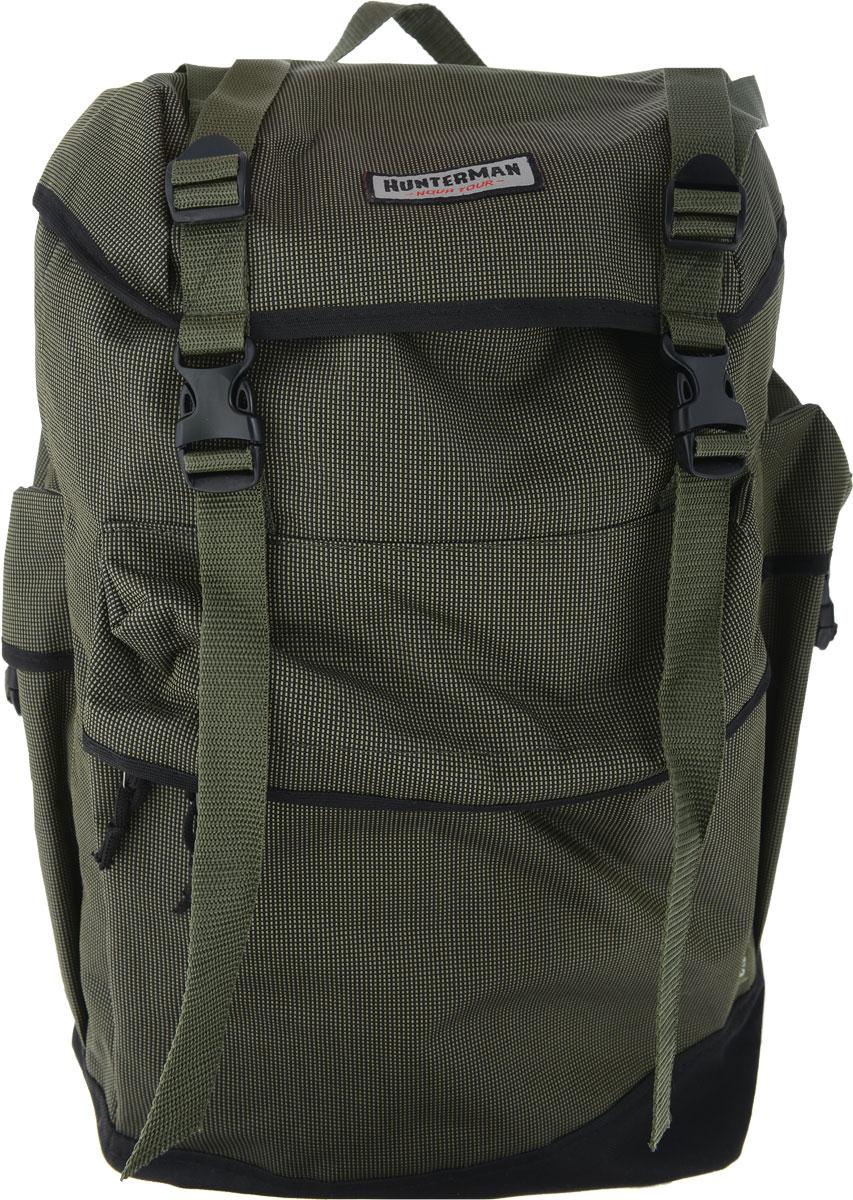 Рюкзак для охоты Hunter Nova Tour Охотник 50 V3, цвет: зеленый, 50 л