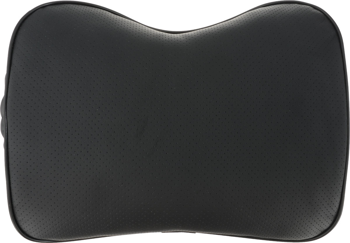 Подушка под спину Auto Premium, увеличенная, цвет: черный. 77161 цена