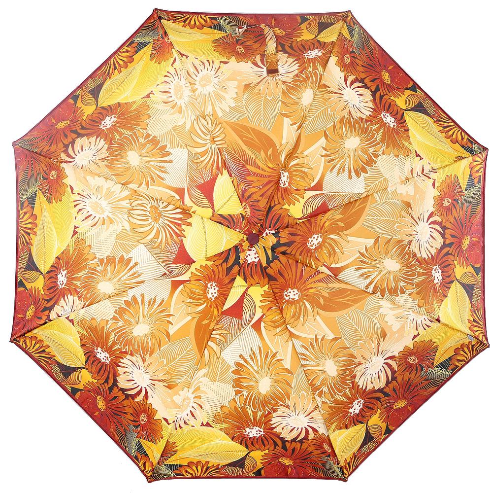 Зонт женский Airton, механика, 3 сложения, цвет: белый, коричневый, рыжий. 3515-1242 зонт airton 3515 женский механический