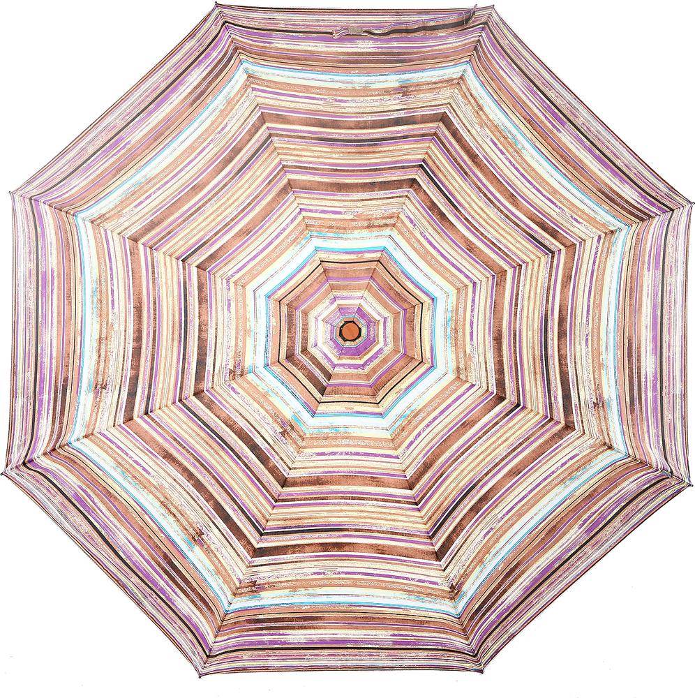 Зонт женский Airton, механика, 3 сложения, цвет: светло-бежевый, сиреневый. 3515-158 зонт airton 3515 женский механический