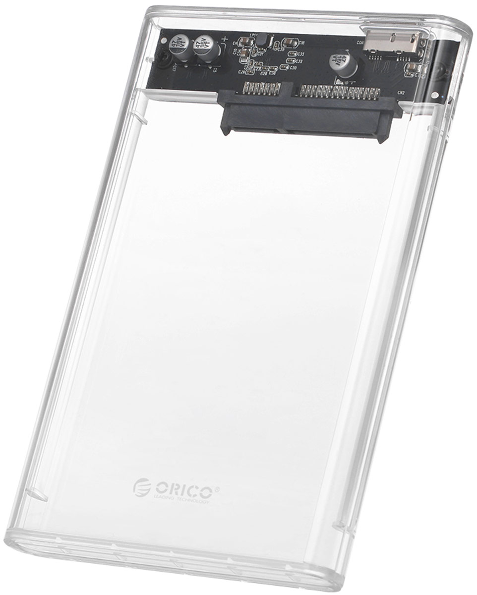 Orico 2139U3, Transparent контейнер для HDD корпус для hdd orico 9528u3 2 3 5 ii iii hdd hd 20 usb3 0 5
