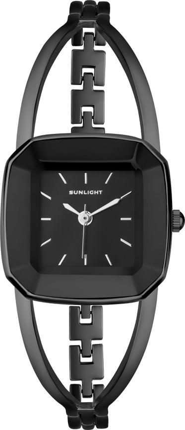 Часы наручные женские Sunlight, цвет: черный. S273ABB-01BA все цены