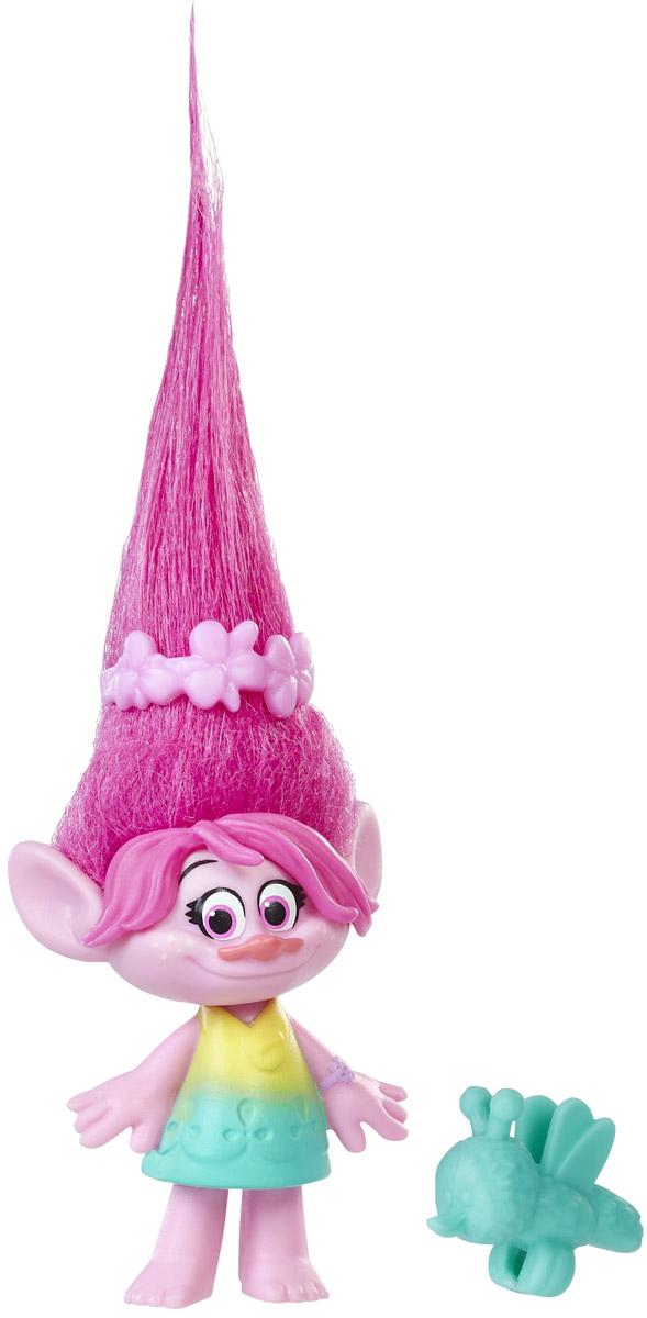 Trolls Фигурка Тролль Poppy hasbro игровой набор trolls тролли с супер длинными волосами голубой тролль