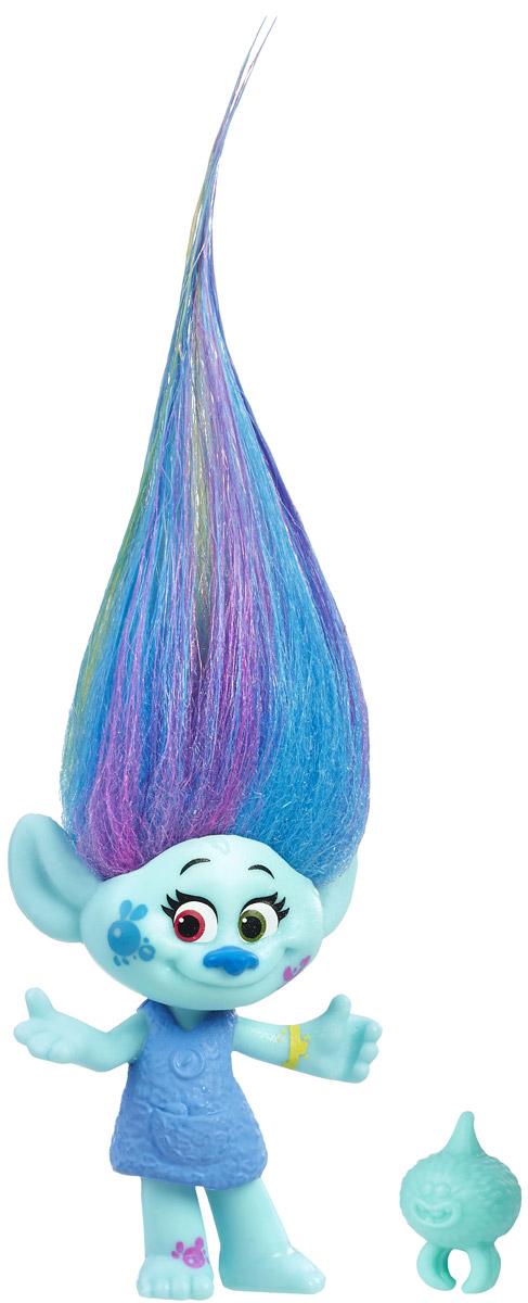 Trolls Фигурка Тролль Harper hasbro игровой набор trolls тролли с супер длинными волосами голубой тролль