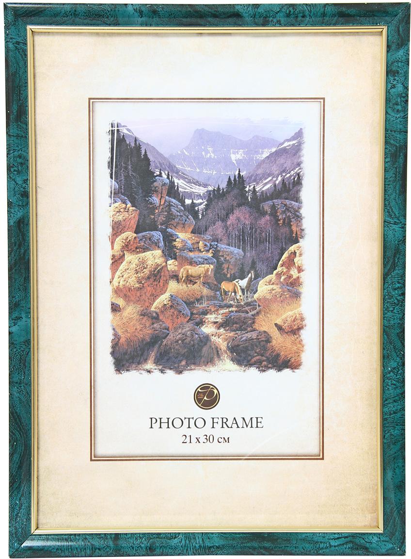 Фоторамка Pioneer, цвет: малахит, 21 х 30 см. 60072 PS 9185-8 фоторамка pioneer 69976 404 бежевый фото 21 х 30 см