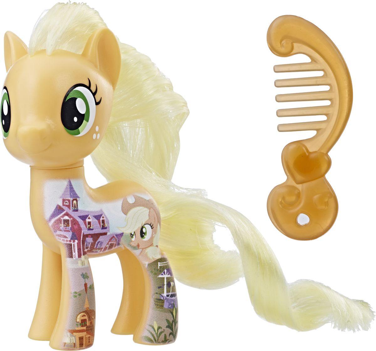 My Little Pony Фигурка All About Applejack цена и фото