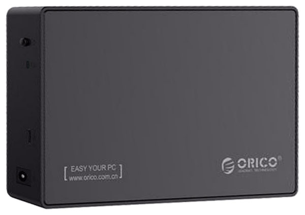 Orico 3588C3, Black контейнер для HDD orico 2538c3 type c notebook мобильный жесткий диск 2 5 без инструмента sata serial port solid ssd hdd enclosure black