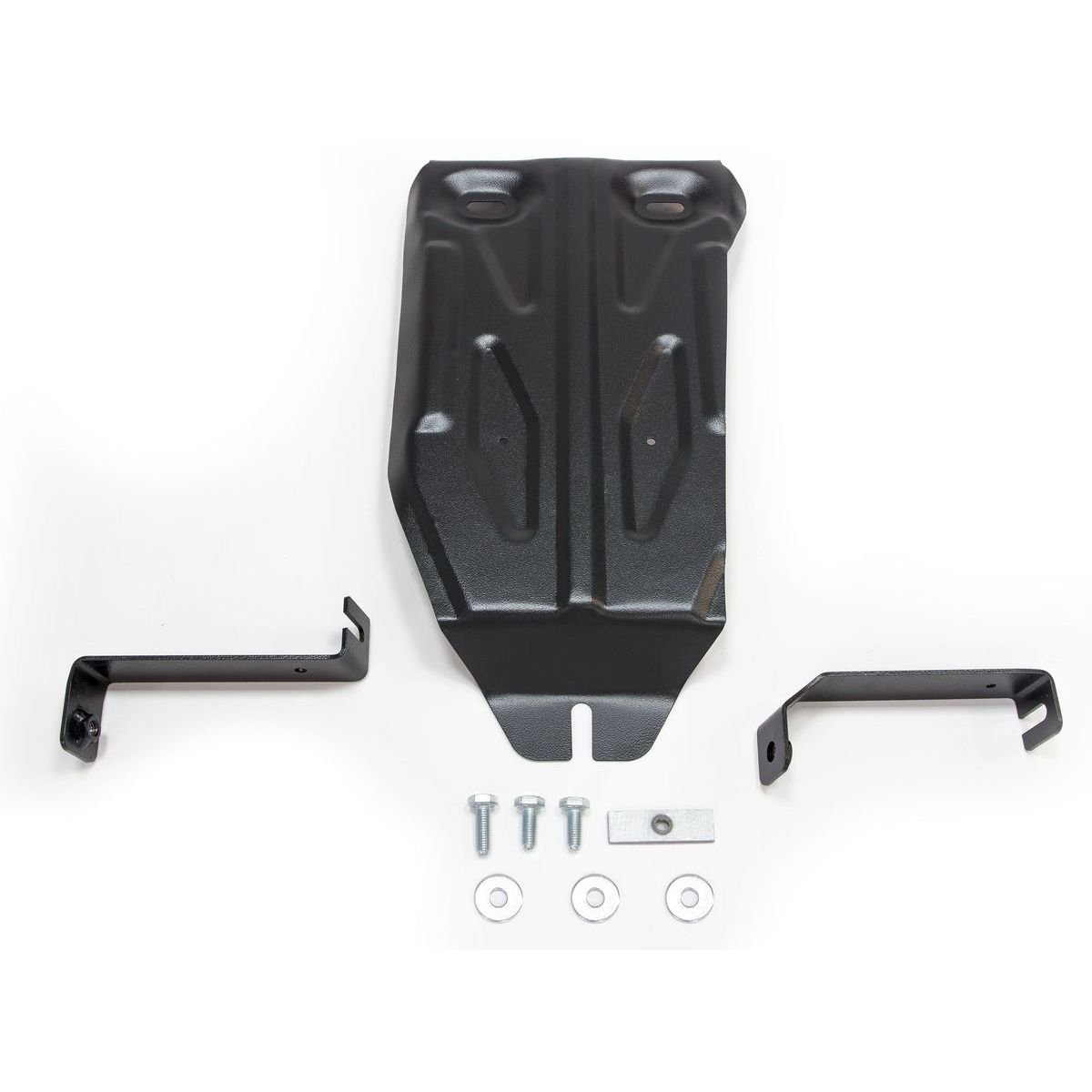 Защита редуктора Rival для Nissan Terrano III 4WD 2014-2016 2016-н.в./Renault Duster I 4WD 2011-2015 2015-н.в./Kaptur 4WD 2016-н.в., сталь 2 мм, с крепежом. 111.4719.1 защита редуктора автоброня для nissan terrano 4wd 2014 н в renault duster 4wd 2011 н в kaptur 4wd 2016 н в сталь 2 мм 111 04719 1