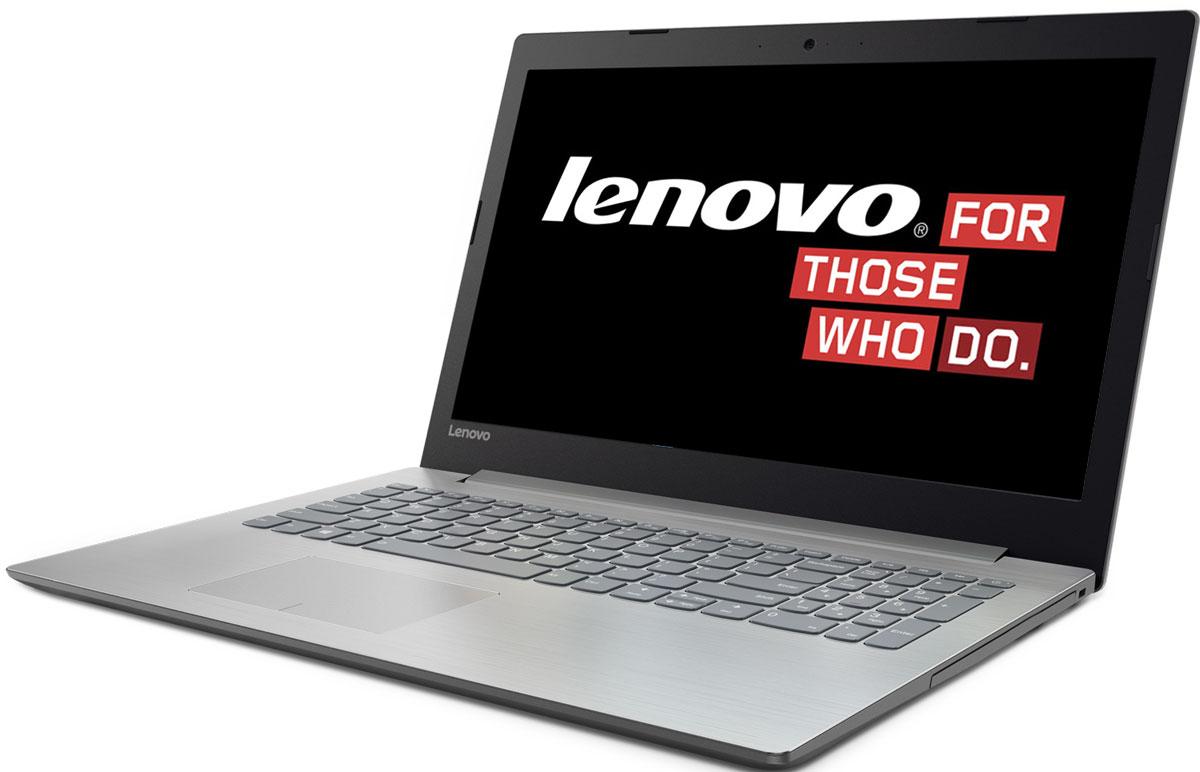 "Ноутбук Lenovo IdeaPad 320-17ABR, 80YN0000RK, 17.3"", серый металлик"
