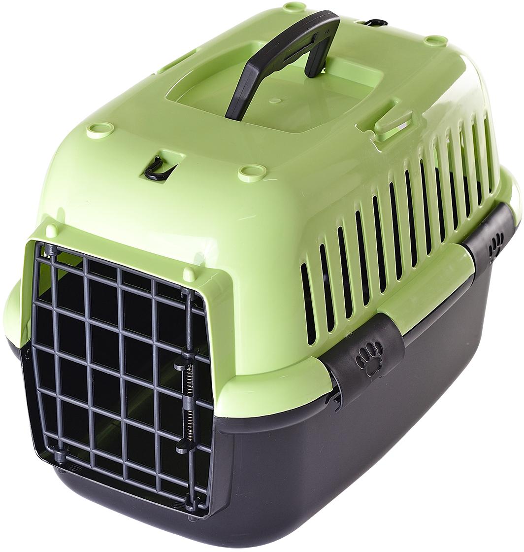 Переноска для животных Fauna Explorer Color, цвет: зеленый, черный, 42 х 28 х 29 см переноска для животных fauna explorer color цвет зеленый черный 42 х 28 х 29 см