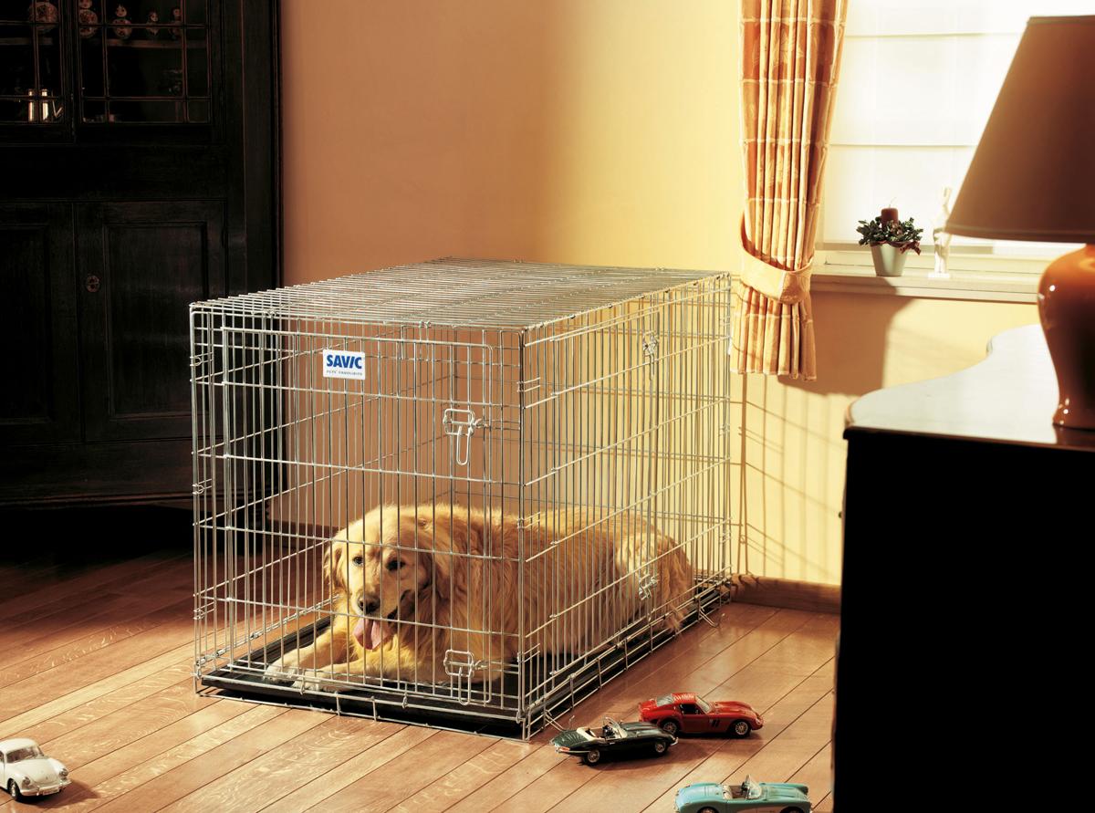 Переноска-клетка для животных Savic Residence, цвет: серый, 107 х 71 х 81 см переноска клетка для животных savic cottage цвет черный 76 х 49 х 55 см