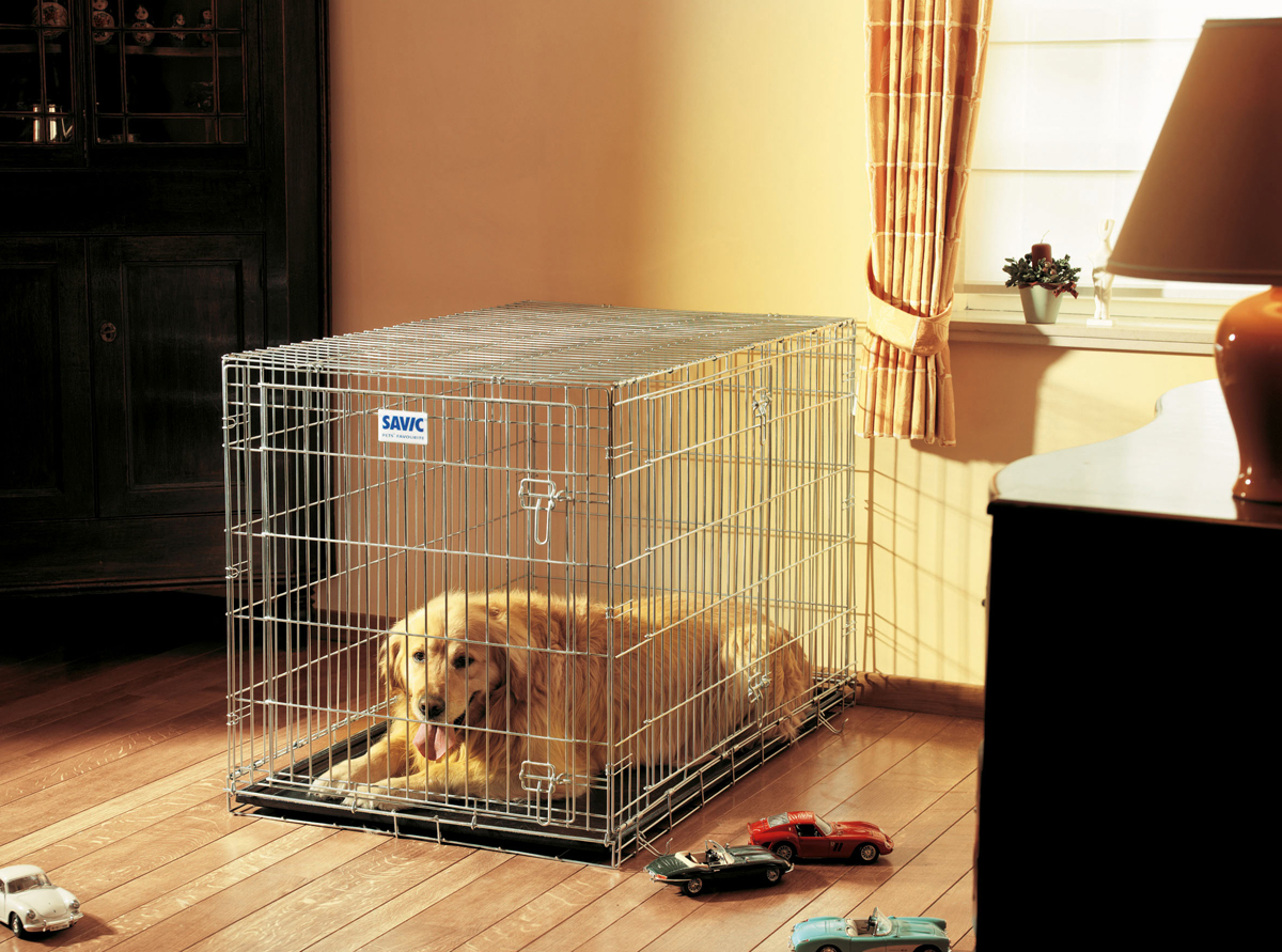 Переноска-клетка для животных Savic Residence, цвет: серый, 118 х 76 х 88 см переноска клетка для животных savic cottage цвет черный 76 х 49 х 55 см