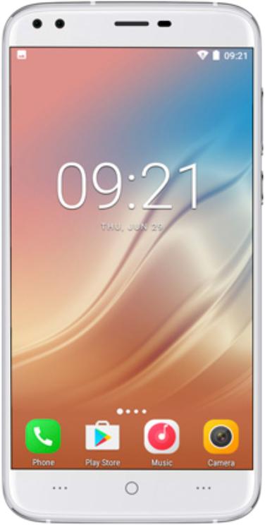 Смартфон Doogee X30 2/16GB silver смартфон doogee x30 16 гб золотой