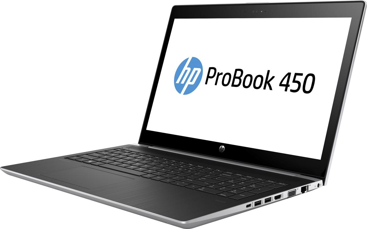 "15.6"" Ноутбук HP Probook 450 G5 2UB70EA, серебристый"