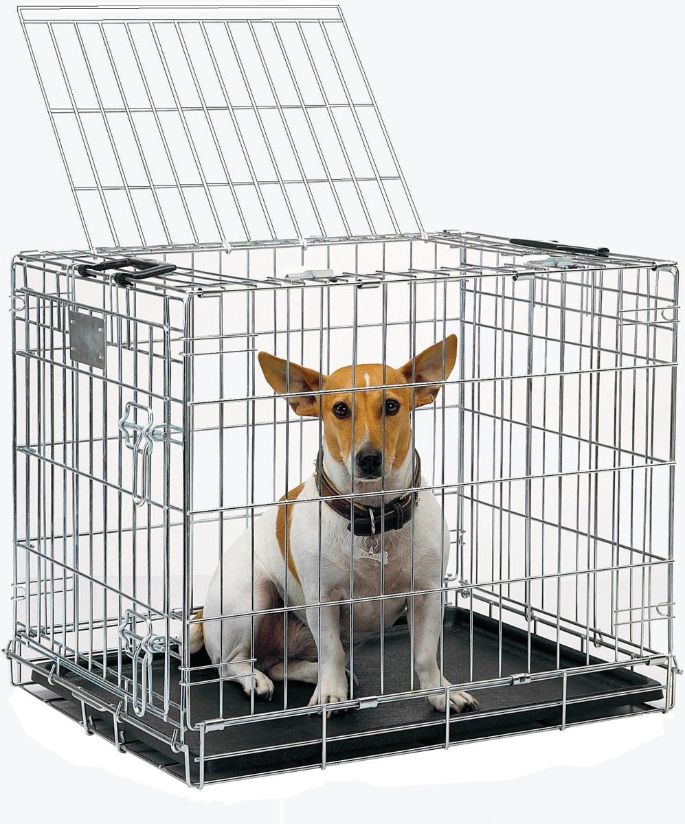 Переноска-клетка для животных Savic Residence, цвет: серый, 61 х 46 х 53 см переноска клетка для животных savic cottage цвет черный 76 х 49 х 55 см