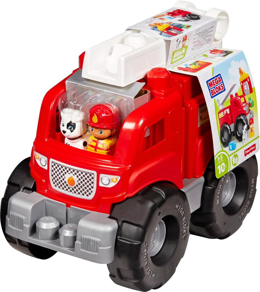 Mega Bloks Mega IPS Storytelling Конструктор Пожарная машина ворота безопасности для детей на лестницу в леруа мерлен