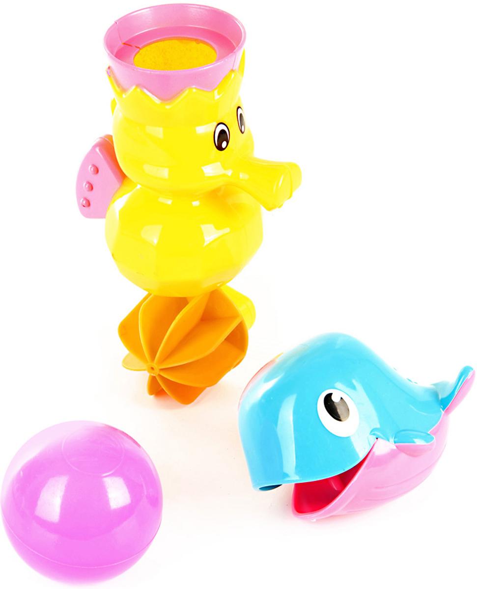 Ути Пути Набор игрушек для ванной 3 шт 61563 ути пути набор погремушек гремелки звенелки цвет красный желтый 2 шт