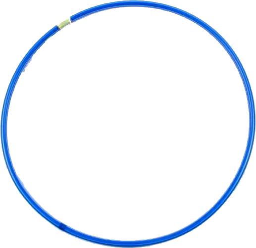 Затейники Обруч цвет синий диаметр 60 смОС600Обруч Затейники подходит не только для занятий гимнастикой, но и для подвижных игр детей и взрослых. Рекомендуем!