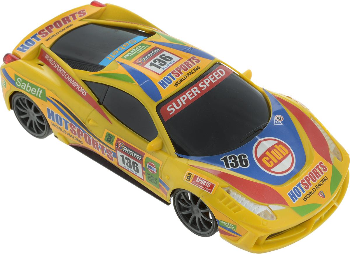 Фото - Taiko Машина гоночная на радиоуправлении StreetZone цвет желтый 0681 taiko машина легковая на радиоуправлении цвет золотой 0491