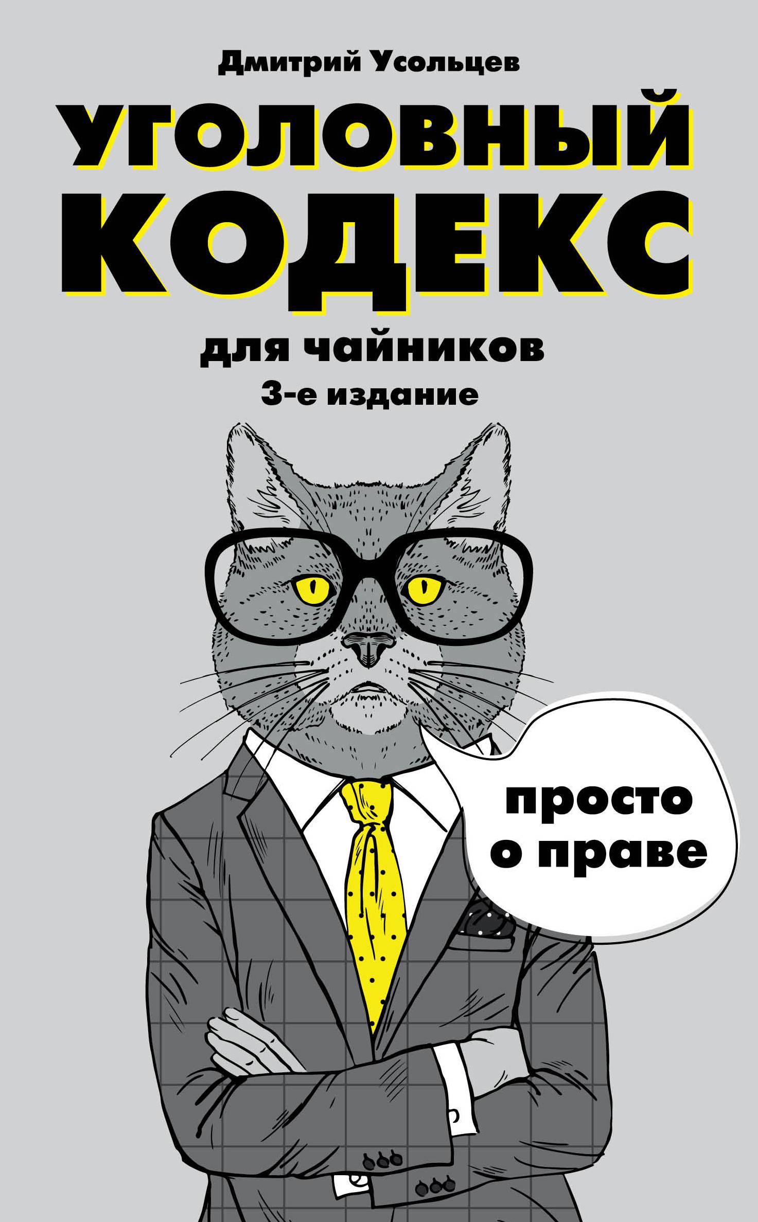 Дмитрий Усольцев Уголовный кодекс для чайников усольцев д уголовный кодекс для чайников