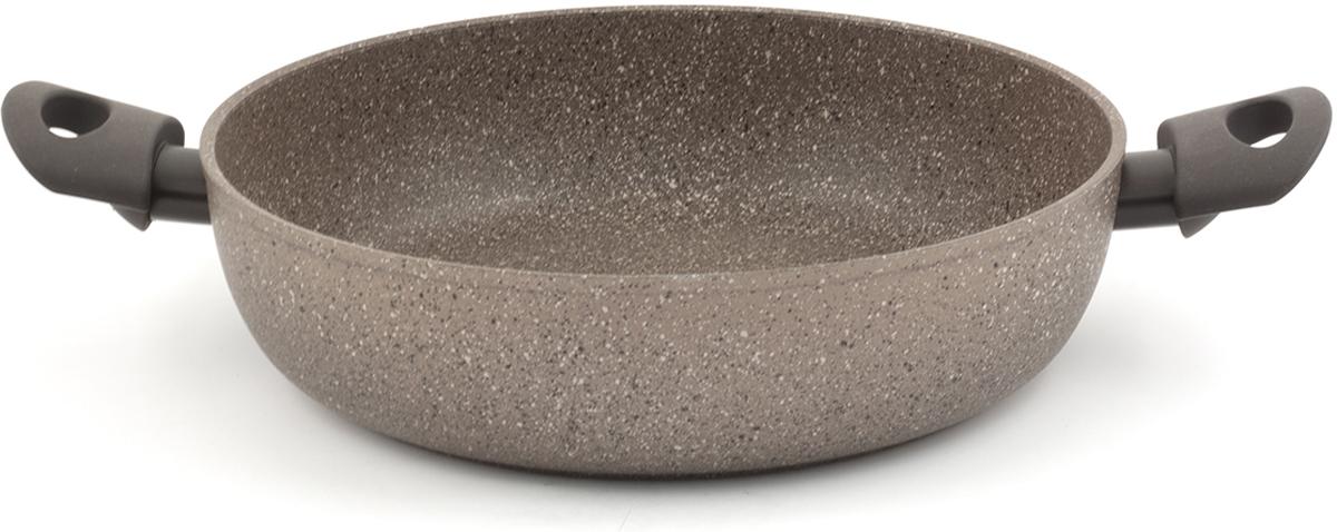 """Сотейник TimA """"Art Granit Induction"""", с антипригарным покрытием. Диаметр 28 см"""