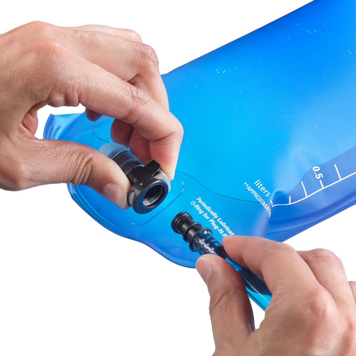 Питьевая система Salomon, цвет: синий, 1,5 л. L32916800