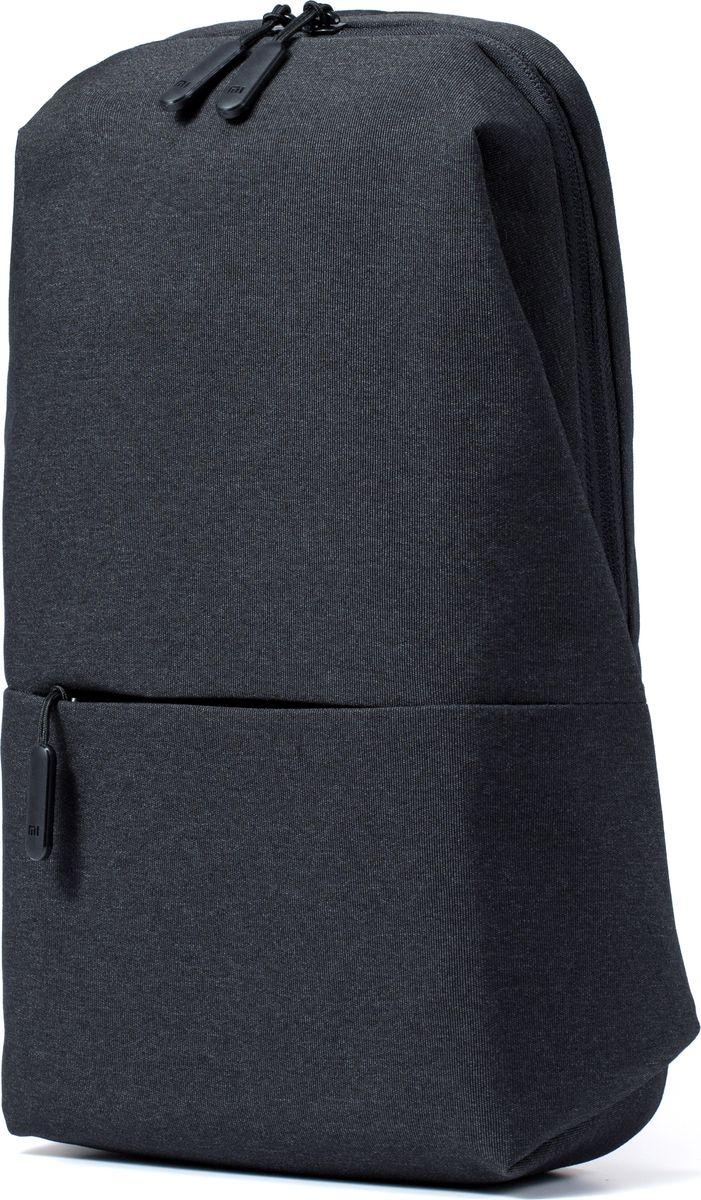 Xiaomi Mi City Sling Bag, Dark Grey рюкзак для планшета рюкзак для планшета 8 3 xiaomi mi city sling bag полиэстер серый micityslingbag lightgray dsxb01rm