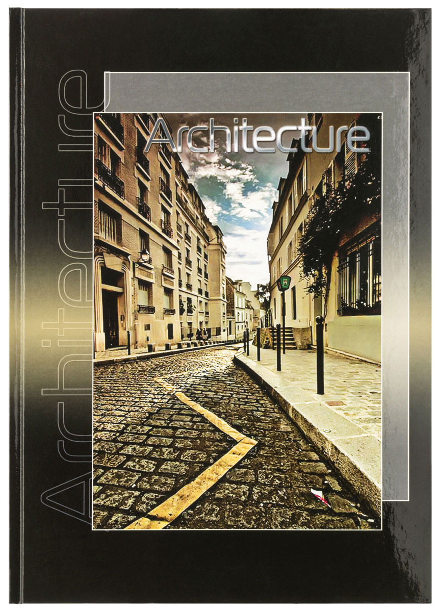 Action! Блокнот Архитектура 80 листов в клетку формат А4 цена